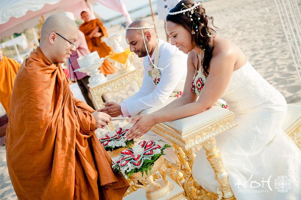 Thai Buddhist Wedding Ceremony Koh Lanta Thailand