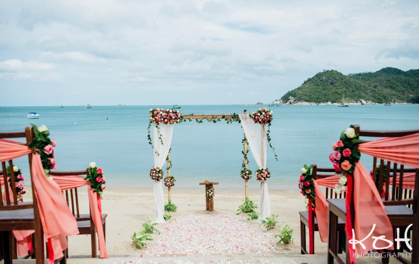 santhiya koh phangan wedding